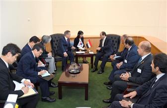 الرئيس السيسي يلتقي رئيس كوريا الجنوبية بمقر الأمم المتحدة في نيويورك