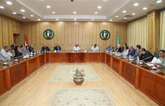 محافظ المنوفية يلتقي بأعضاء مجلس النواب لبحث النهوض بالمحافظة