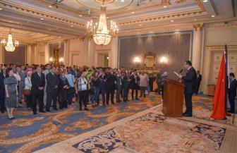 قنصلية الصين بالإسكندرية تحتفل بالعيد الوطني الـ69 | صور