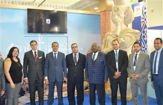 سفير مصر بكازاخستان: الجناح المصري بمعرض أستانا الدولي يعكس إمكانيات مصر السياحية | صور