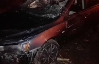 """مصرع أب ونجله في حادث انقلاب سيارة ملاكي على طريق """"قنا - البحر الأحمر"""""""