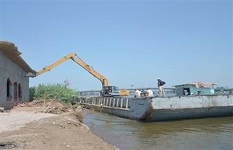 إزالة 504 حالات تعد على نهر النيل ومنافع الري والصرف خلال 24 ساعة