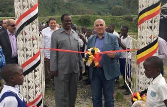 وزير الري ونظيره الأوغندي يشهدان ختام المرحلة الأولى من مشروع درء مخاطر الفيضان