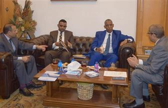 سفير جيبوتي يزور غرفة القاهرة لبحث زيادة التبادل التجاري