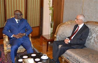 نائب وزير الخارجية للشئون الإفريقية يستقبل رئيس مجلس الشيوخ البوروندي | صور