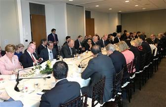 """وزير الخارجية يشارك في الاجتماع الوزاري لدعم """"أونروا""""  صور"""
