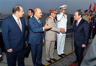 الرئيس السيسى يصل القاهرة بعد مشاركته في أعمال الجمعية العامة للأمم المتحدة |صور