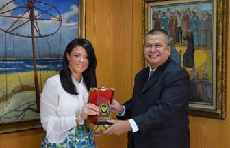 وزيرة السياحة تلتقى السفير الإندونيسى بالقاهرة لبحث أوجه التعاون بين البلدين| صور