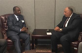 وزير الخارجية يبحث التعاون الثنائي والقضايا الإقليمية مع نظيره البوروندي