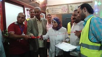 معارض خيرية لتوزيع الملابس على الأسر الفقيرة بقرى أسيوط  صور