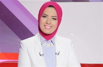 """آية عبدالرحمن تقدم """"اليوم وغدا"""" على شاشة """"إكسترا نيوز"""""""