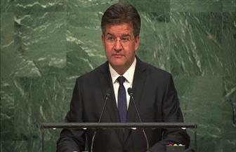 """رئيس الجمعية العامة للأمم المتحدة يستضيف """"البابطين"""" في جلسة حول السلام"""