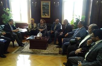 تفاصيل زيارة المصريين الأحرار لمحافظ الإسكندرية للتهنئة وطرح ملفات وحلول المشكلات