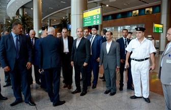 جولة تفقدية لوزير الطيران المدني في مطار سوهاج الدولي | صور