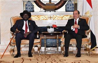 الرئيس السيسي يؤكد استمرار دعم مصر حكومة وشعب جنوب السودان