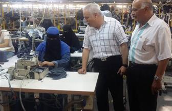 انتظام 3500 عامل بشركة استثمارية بالإسماعيلية في العمل بعد صرف بدل غلاء المعيشة| صور