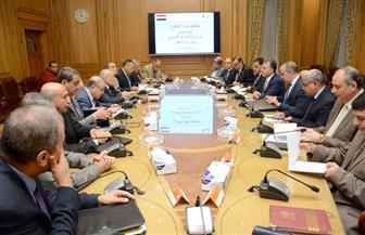 """""""العصار"""" و""""عرفات"""" يبحثان التعاون في تنفيذ مزلقانات السكة الحديد والجرارات ومصنع أبو رمادة"""