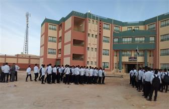 نائب وزير التعليم في أول يوم دراسة: مدرسة الضبعة ستكون في خدمة المشروع النووي السلمي | صور
