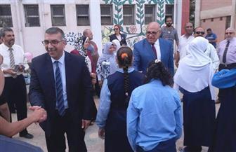 نائب محافظ القاهرة يزور المجمع الحرفي لمتحدي الإعاقة في المنطقة الغربية | صور