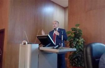 وزير الري يوضح تحديات إدارة الموارد المائية لوفد طلاب الجامعة العربية المفتوحة | صور