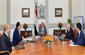 الرئيس السيسي يستعرض الموقف التنفيذي لمشروعات الإسكان