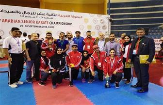البطولة العربية للكاراتيه تختتم فعالياتها والفراعنة يتربعون على العرش