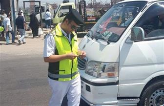 حملات مرورية على الطرق السريعة للحد من الحوادث | صور