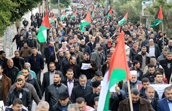 تظاهرة في غزة احتجاجا على وقف واشنطن تمويل أونروا
