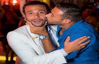 صور جديدة لمحمد إمام من حفل زفافه