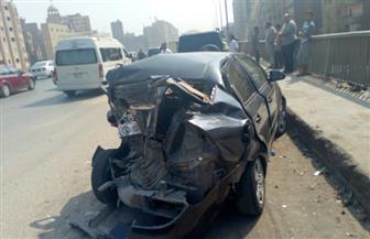 """إصابة 6 أشخاص في تصادم سيارة ملاكي بـ""""توك توك"""" فى الغربية"""