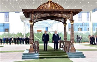 """""""الرئاسة"""": تشكيل فريق عمل مشترك بين مصر وأوزبكستان للتعاون في مجال مكافحة الإرهاب والتطرف"""