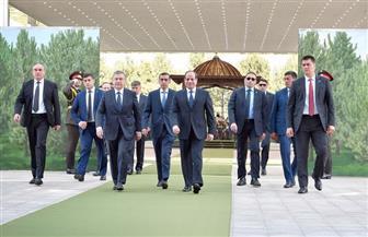 بيان مشترك بشأن زيارة الرئيس السيسي إلى أوزبكستان يؤكد التعاون وتقارب وجهات النظر  صور