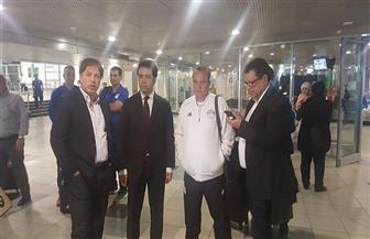 بعثة المنتخب الأولمبي تصل إلى مطار موسكو