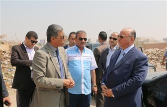 محافظ القاهرة يتفقد مقلب الوفاء والأمل.. ويؤكد تسليمه لوزارة البيئة نهاية العام | صور