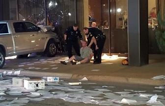 اعتقال رجل صدم شاحنته بمحطة تليفزيونية بتكساس