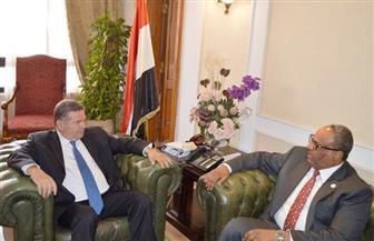 وزير قطاع الأعمال العام يبحث مع سفير الإمارات تعزيز التعاون المشترك