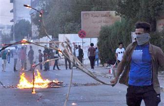محتجون عراقيون يغلقون ميناء أم قصر للسلع قرب البصرة