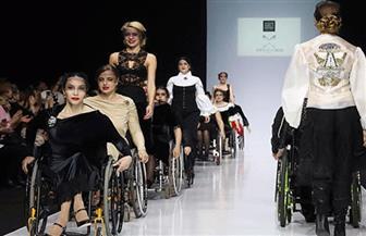 عرض أزياء في نيويورك لذوي الاحتياجات الخاصة