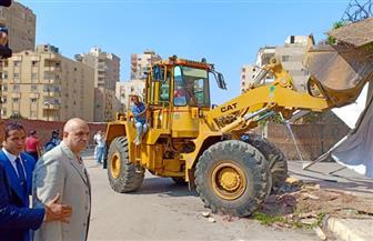 مدير أمن القاهرة يقود حملات مكبرة بمنطقة الحي العاشر بمدينة نصر  صور