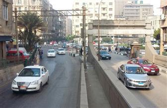 نائب محافظ القاهرة يتابع ترميم كوبري السيارات في شارع الأزهر