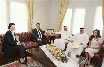 سفير مصر بالكويت يناقش العلاقات الثنائية مع مساعد وزير الخارجية الكويتية