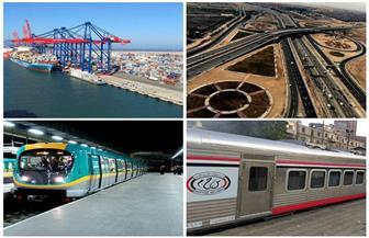 تطوير وصيانة ورفع كفاءة 5000 كيلومتر طرق.. تعرف على إنجازات قطاع النقل خلال 6 سنوات| انفوجراف