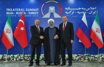انطلاق القمة الثلاثية بين إيران وروسيا وتركيا بشأن سوريا | صور
