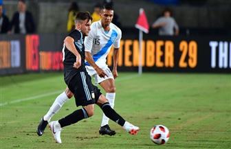 فى غياب ميسى وأجويرو.. الأرجنتين تفوز على جواتيمالا بثلاثية