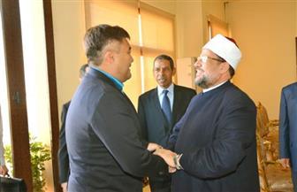 وزيري الأوقاف المصري والكازاخستاني يتفقدان أعمال الترميم بمسجد الظاهر بيبرس