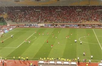 شاهد لاعبي المنتخب المصري يستعدون لمباراة النيجر | صور