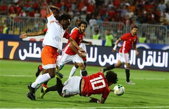 منتخب مصر يتقدم على النيجر بثلاثية نظيفة فى الشوط الأول | صور