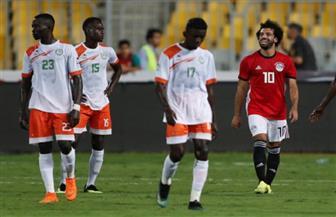 محمد صلاح يحرز الهدف الخامس فى مرمى النيجر بتصفيات أمم إفريقيا