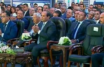 الرئيس السيسي يؤكد احترام حرم الطريق من أجل أمان وسلامة المواطنين