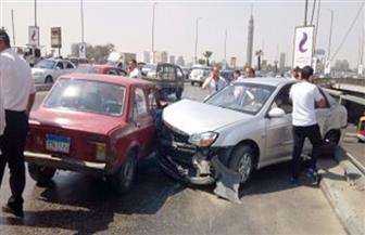 مصرع شخصين وإصابة 11 في حادث تصام بطريق العين السخنة